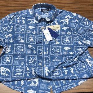 NWT Southern Tide Reyn Spooner Hawaiian shirt L